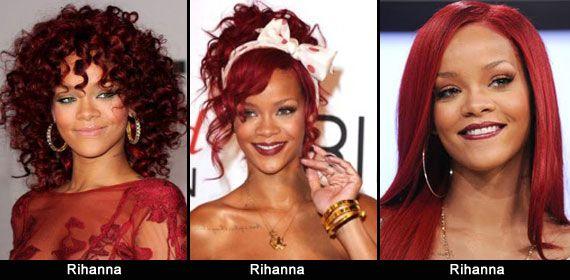 Personalmente vado matta per i capelli ricci rosso mogano di Rihanna che fu, e anche per il colore di Ashlee Simpson, se notate i suoi magnifici occhi verdi spiccano ancora di più col rosso dei capelli, stessa cosa vale per Emma Stone!