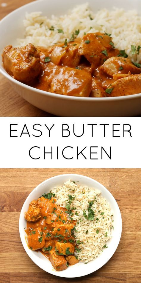 FOOD // Easy Butter Chicken