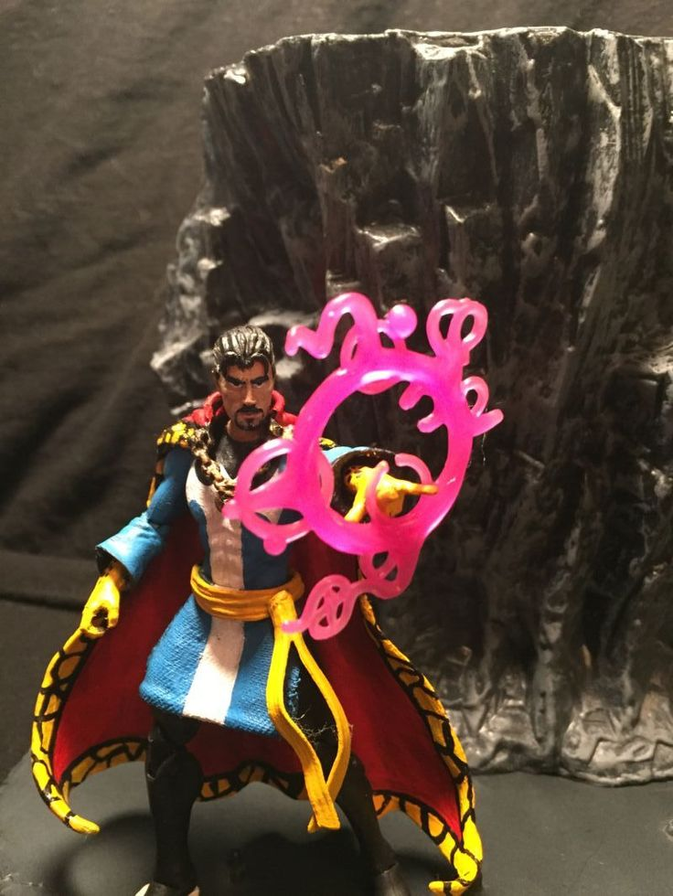 Dr. Strange (Marvel) Custom Action Figure