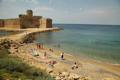 Le Castella, a dive in History Italian Diaspora Summer