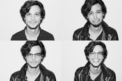 Um, also, there's his face. Just look at it doing different things.   Why Matthew Gray Gubler Is The Nerd Of Your Dreams
