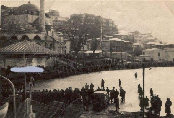 İstanbul Boğazın-ın donduğu yıl