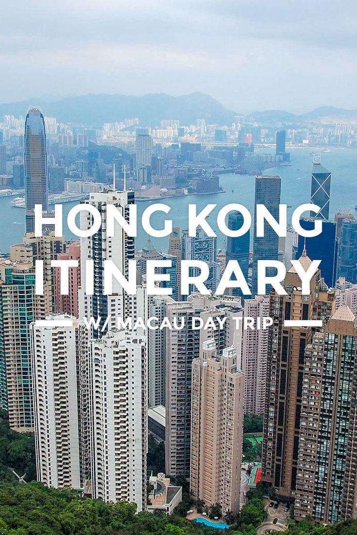 Pin by adel on travel guide   Hong kong itinerary, Macau