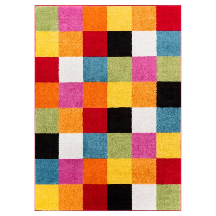 Well Woven Starbright Bright Kids Area Rug - 09534