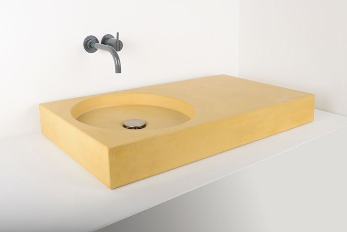 Cero colored concrete sink (available in 28 colors!)