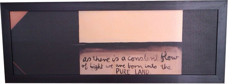 Colin McCahon, As There Is A Constant Flow Of Light