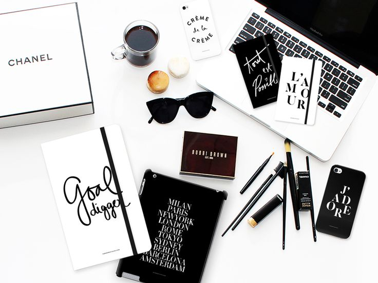 Fashion-infused lifestyle stationeries in CHIC EDGY Black and White series — designed with Fashionistas in mind.   FREE SHIPPING within Indonesia & Singapore.   To SHOP: www.printerous.co...   Rest of the world: http://paperprovision.com/ppxprinterous/  #macbookskins #macbook #iphonecase #techcessories #notebooks #stationery #frenchwords #freeshipping #singapore