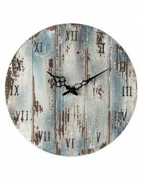Weathered Outdoor Wall Clock