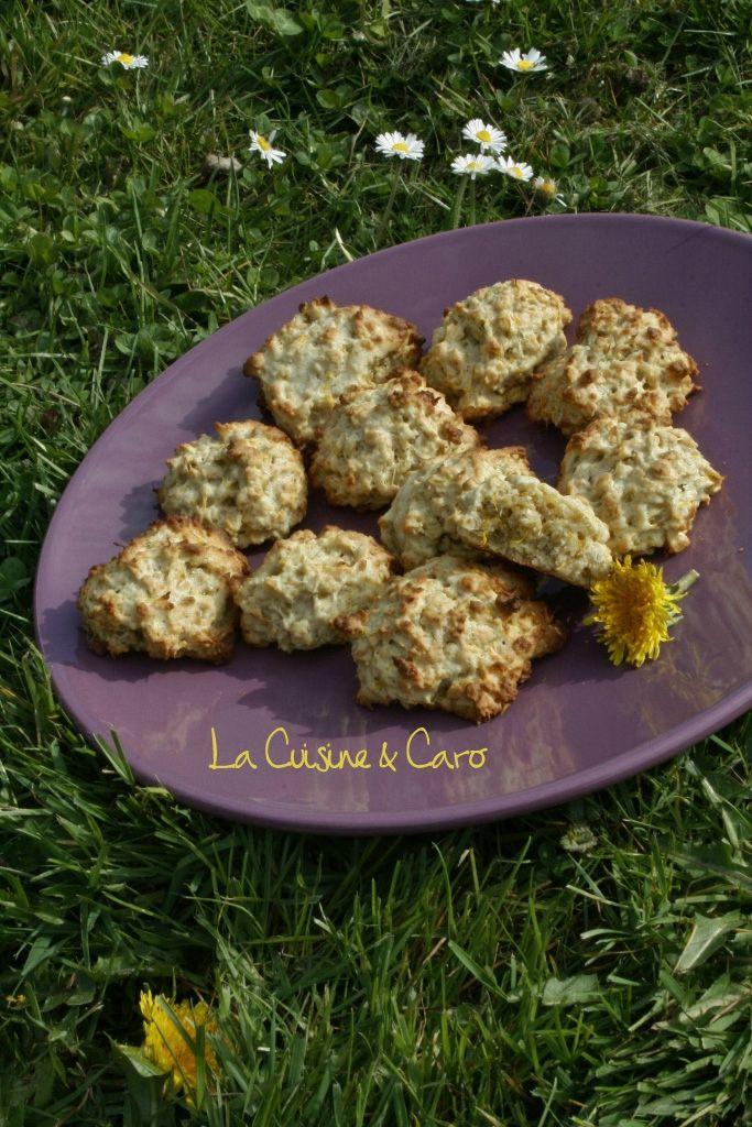 Cookies aux fleurs de Pissenlits - La Cuisine & Caro