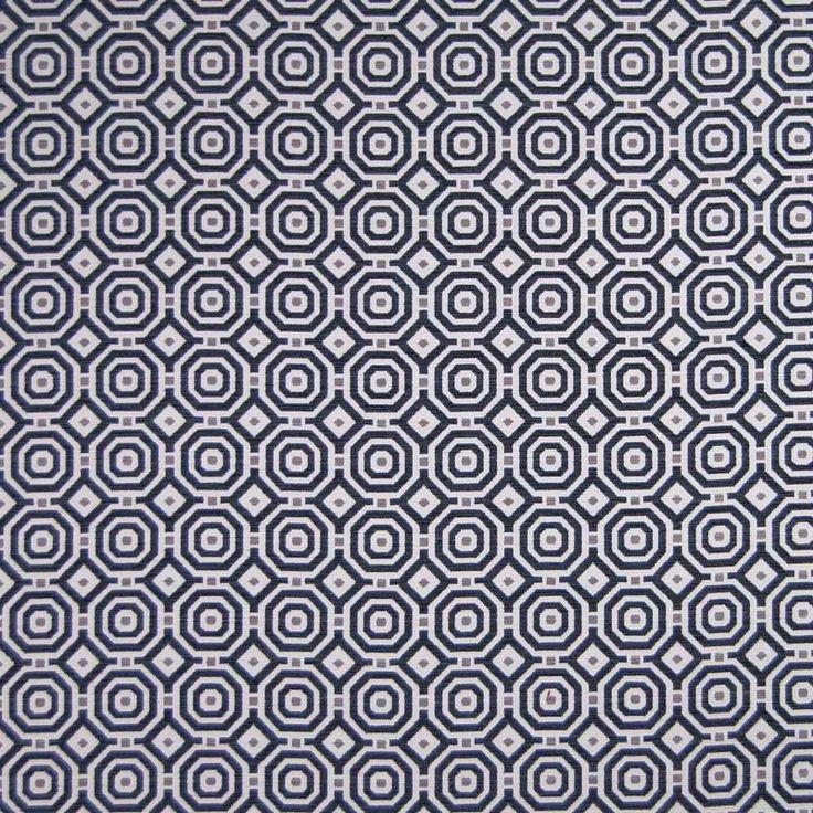 Warwick Fabrics : ASTOR, Colour ONYX