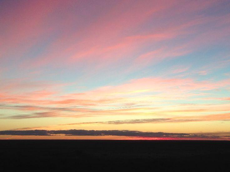 Sunset on Mundi Mundi Plains