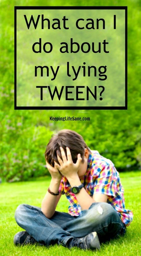 If you a tween, then you know that lying comes with the territory.  Here are a few tips to get through this phase.  What can I do about my lying tween? - Keeping Life Sane