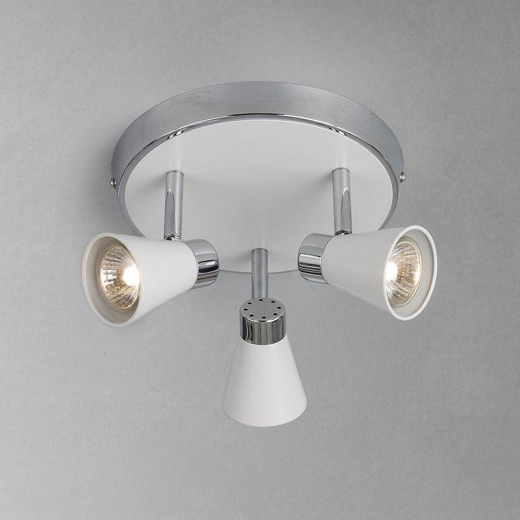 Buy John Lewis Logan 3 Spotlight Ceiling Plate | John Lewis