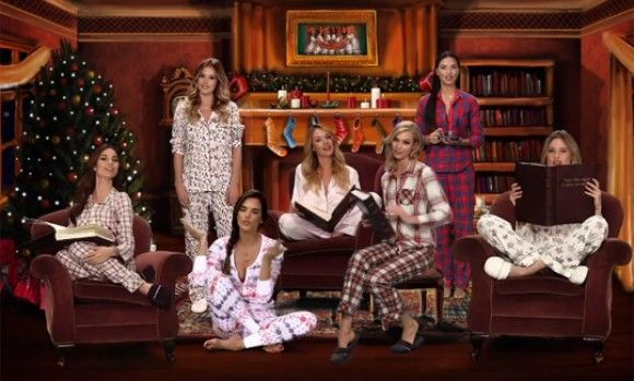 VS Angels Redefine Twas the Night Before Christmas