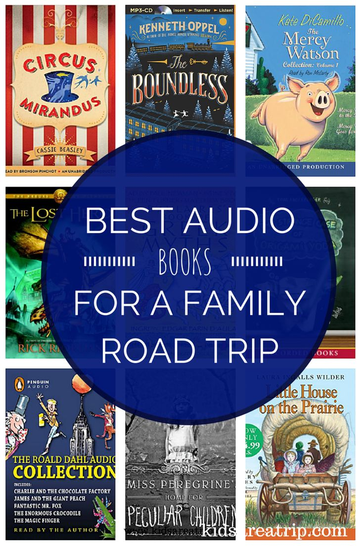 Best Audio Books For A Family Road Trip