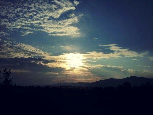 Here come the sun