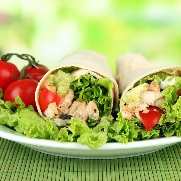 Dairy-Free Meals - Loaded Chicken Burritos Big
