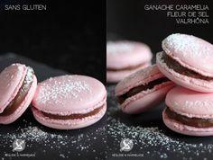 Macarons Caramelia Fleur de Sel sans gluten