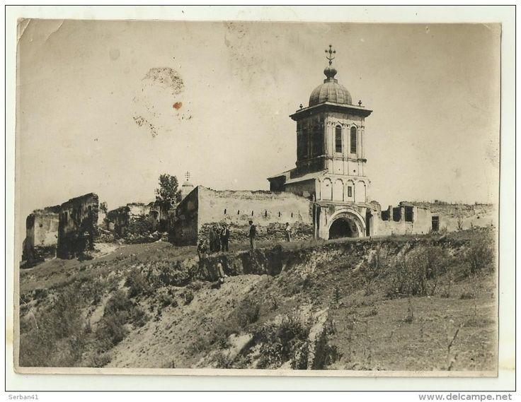 Târgoviște, Ruinele Cetății lui Matei Basarab. Șt. Ignat (București). delcampe 337732044.