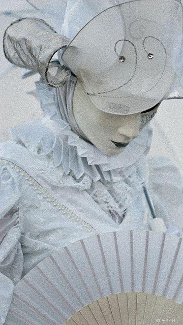 Venetian Costume II by Dabduedel, via Flickr