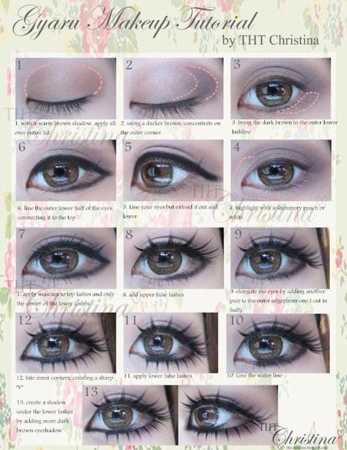 .: Make Up Tutorial, Makeup Tutorial, Idea, Eye Makeup, Eye Make Up, Eyemakeup, Hair, Reform Makeup, Eyes