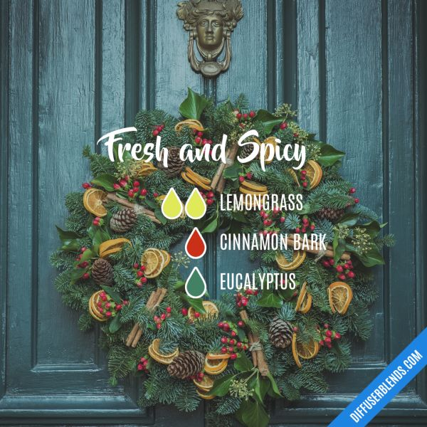 Fresh and Spicy - Essential Oil Diffuser Blend