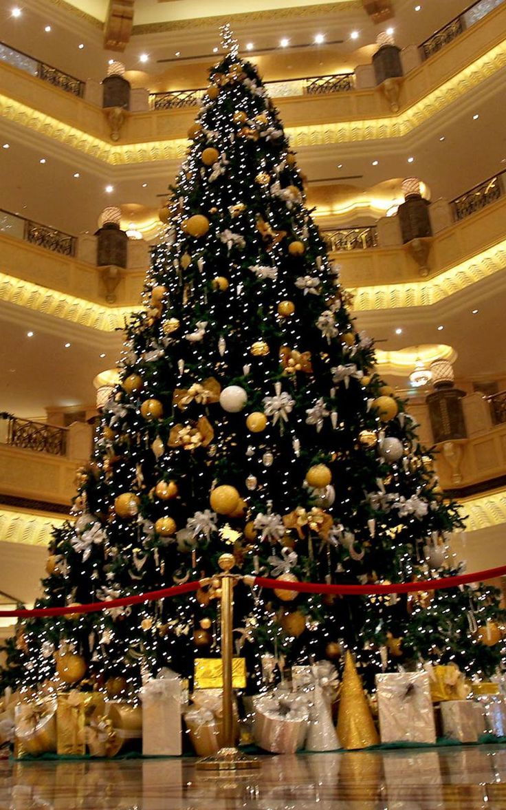 Decorated Christmas Trees | Center Christmas Tree In New York City And The  Large Christmas Tree