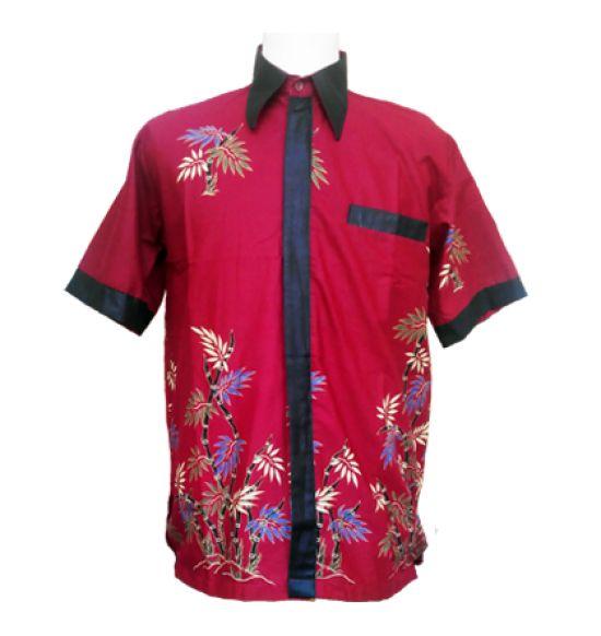 Batik pria motif bambu
