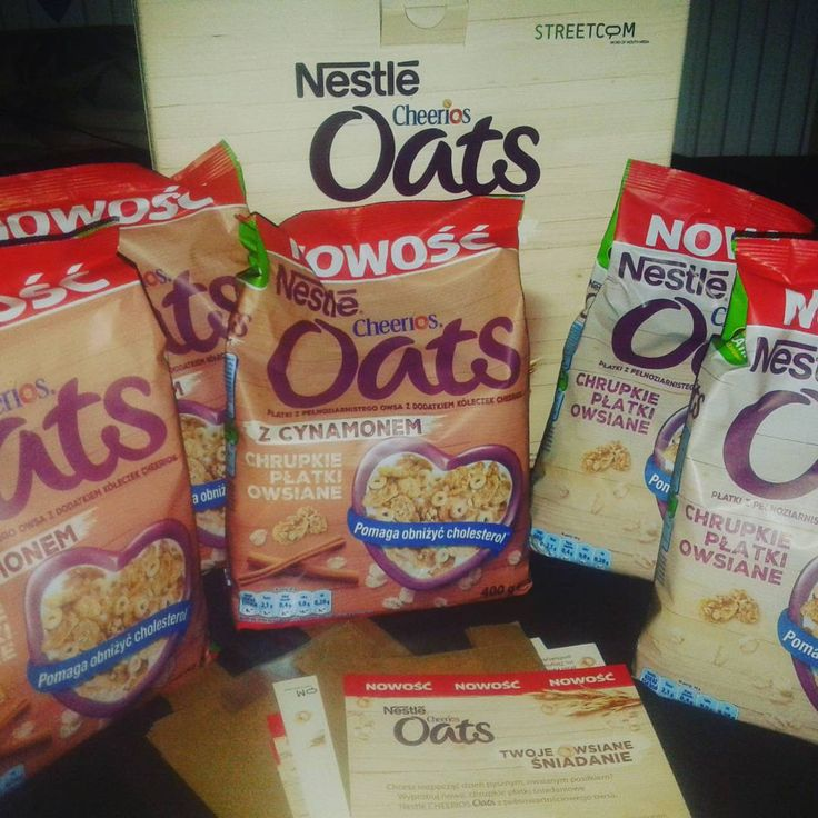 :)  #CheeriosOats #ChrupkiePlatkiOwsiane #Streetcom #owsiane #Nestle #płatkiowsiane #cynamon https://www.instagram.com/p/85s4AGG6pK/
