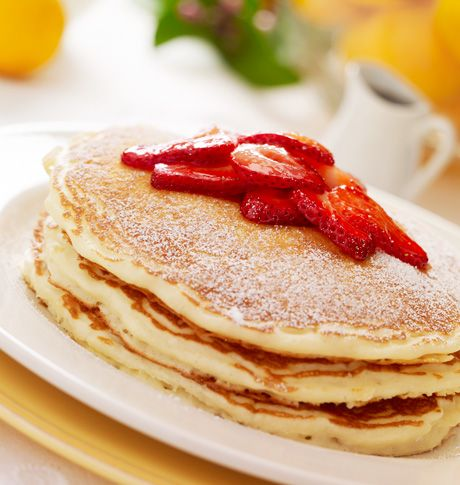 Lemon Ricotta Pancakes - The Cheesecake Factory