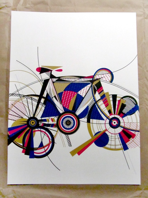 love the patterning and colour: Colour, Aiga Minneapolis, Silkscreen Serigraphi, Minneapolis Serigraphi, Silkscreening Serigraphi, Posters, 2013 Agia