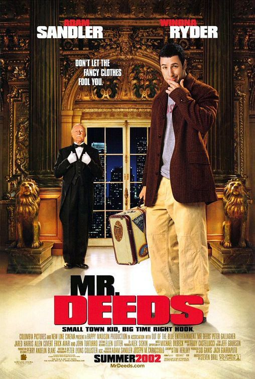 Mr. Deeds Movie Poster - Internet Movie Poster Awards Gallery