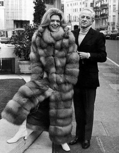 Melina Mercouri and her husband of nearly 28 years, director Jules Dassin.