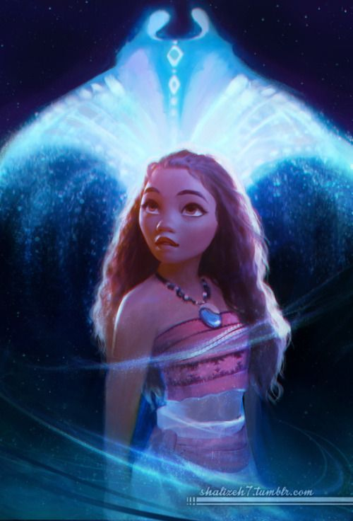 Lol is it weird to say that i cried at the part of moana when grammar tala came back as a stingray and guided her?