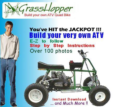 Grasshopper Atv Building Plans Projects Pinterest