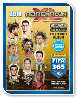 Adrenalyn XL FIFA 365 2018 - Nordic Edition
