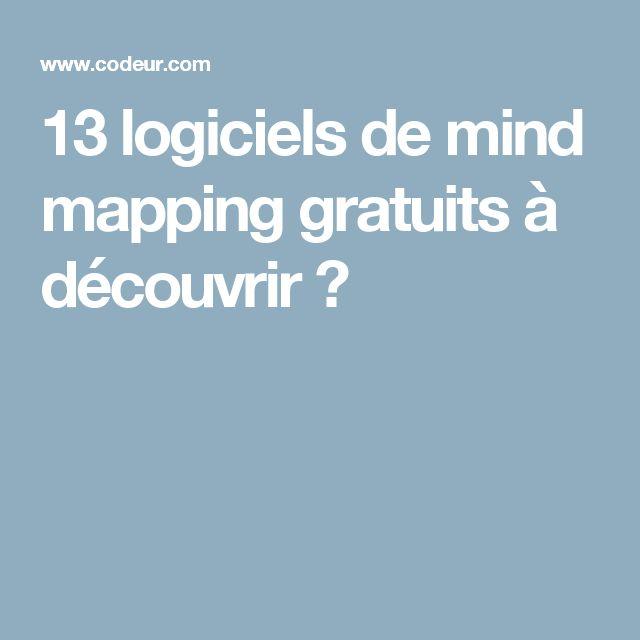 13 logiciels de mind mapping gratuits à découvrir →