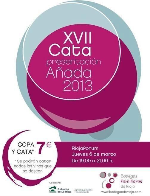 Añada 2013 Bodegas Familiares de Rioja.