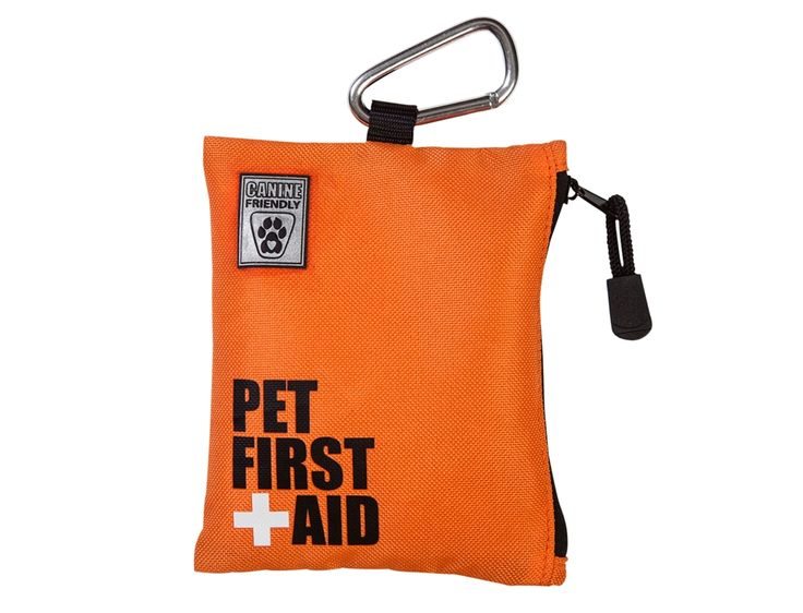 Pet First Aid Kit made by Friendly Canine   Very handy to have! It's also great for not just your pet, but you too!