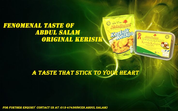 Abdul Salam kerisik is the best kerisik you could ever find. Abdul Salam kerisik were produced with high quality