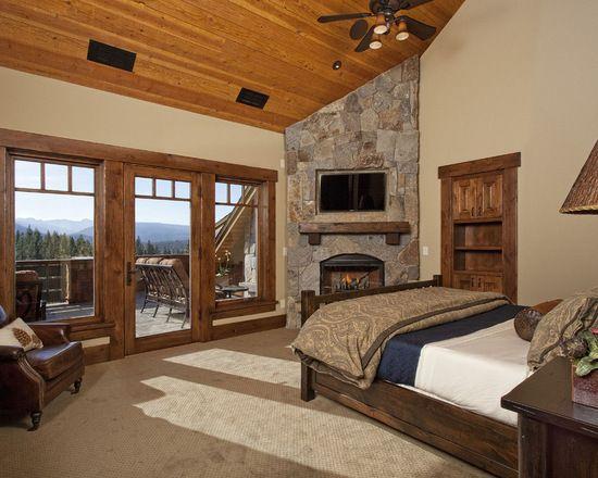 Martin Modern Rustic Camp Custom Bedroom #cabinlife #rustic #rusticdecor #rusticartistry #cabins