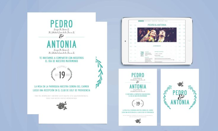 Pedro & Antonia / Novios Digitales
