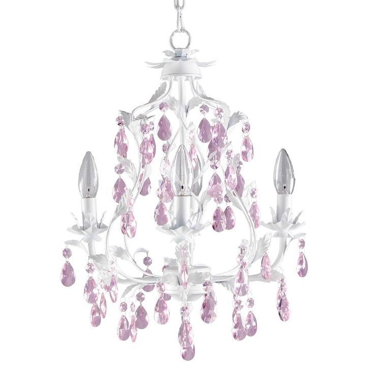 Juliette 5 Arm Crystal Chandelier Kids Room
