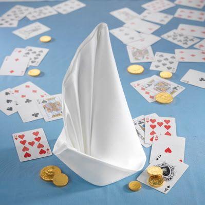 sailboat napkin fold | Napkins: more folds