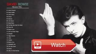 David Bowie Greatest Hits Best Of David Bowie Playlist