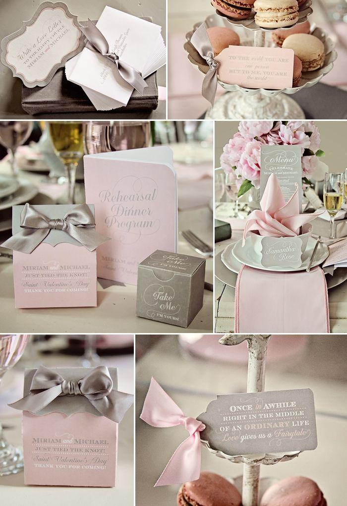 Loralee Lewis Valentine's Day Paper Suite @Sarah Nasafi Grayce #laylagrayce #valentinesday #gray #pink