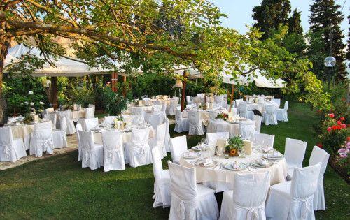 sedie in giardino matrimoni