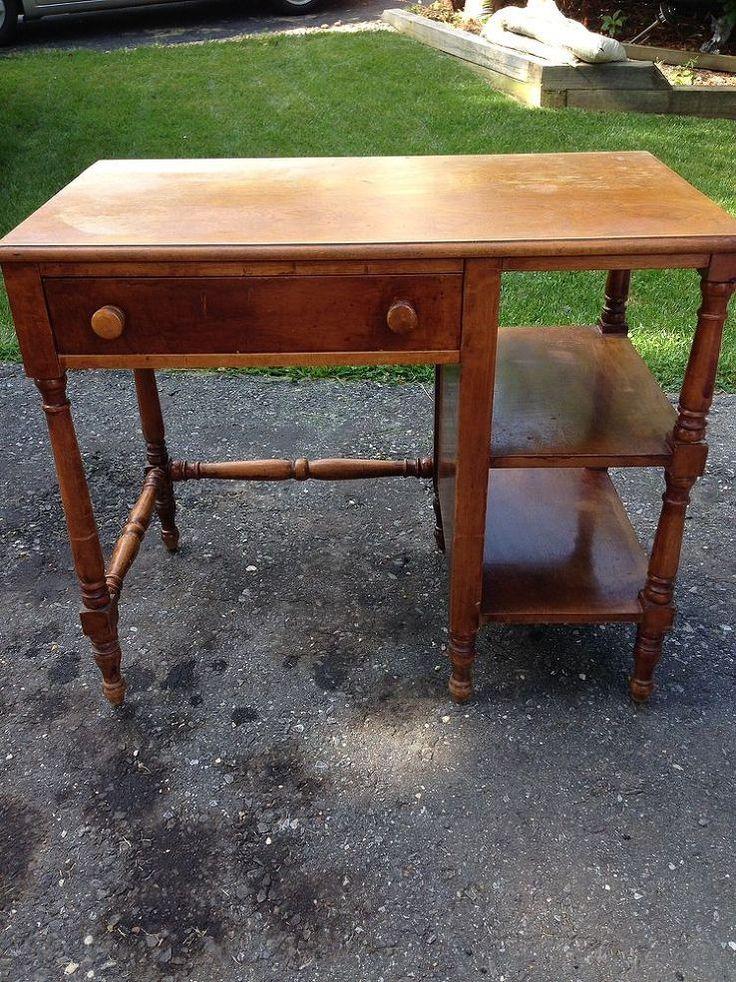 Diy Painting A Wood Desk