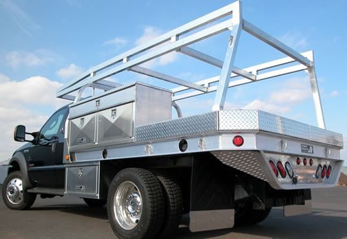 Contractor Flatbed body truck bed