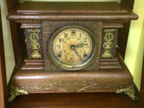 Mantle Clock With half Hour Bell   $425  Butler Creek Antiques Dealer #8804  Lucas Street Antiques 2023 Lucas Dr. Dallas, TX 75219  Read more: http://dallas.ebayclassifieds.com/home-decor/dallas/mantle-clock-with-half-hour-bell/?ad=39246828#ixzz3Zy62jMMn